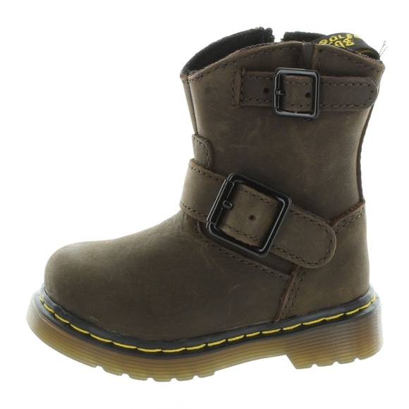 Dr. Martens Other - Dr. Martens Toddler Kids Brown Wyoming Boots Shoes